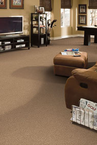 Choice of carpeting can reflect your personal taste and style.